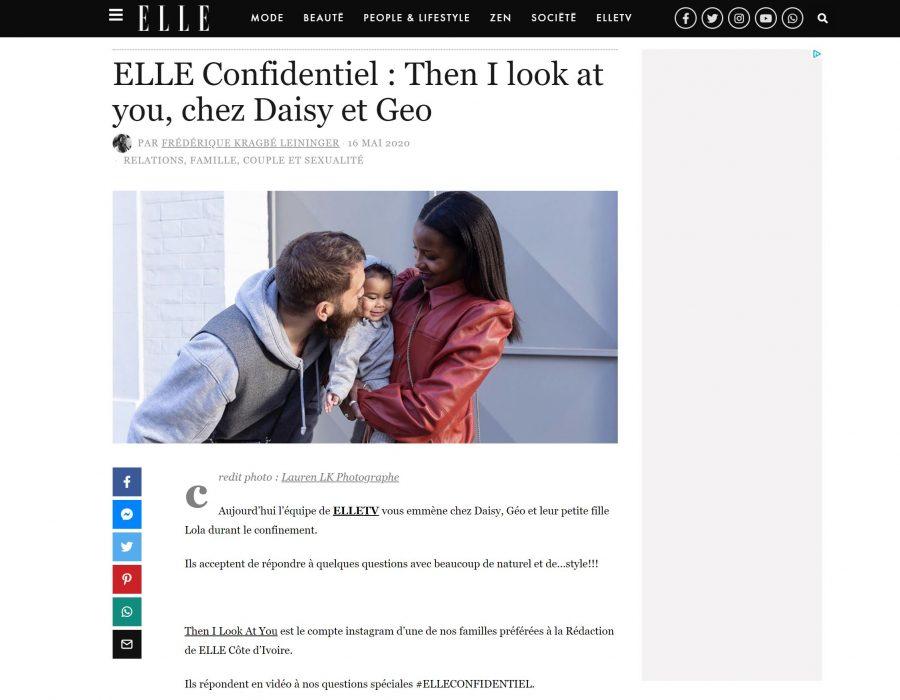 Article Elle Cote d'Ivoire