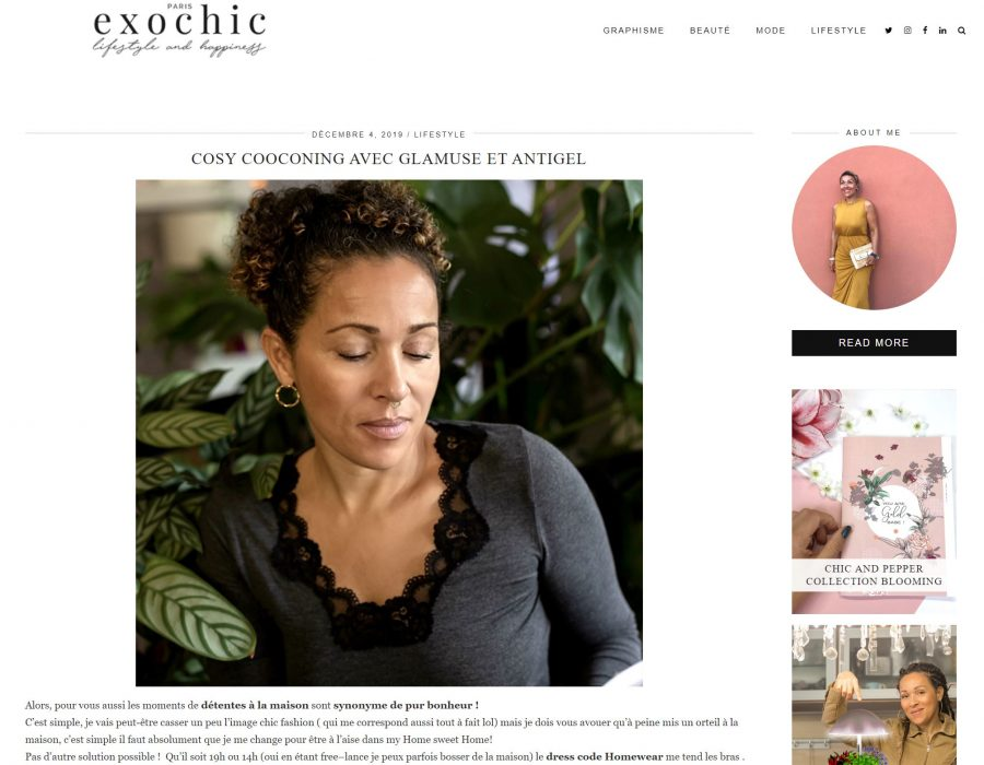 Article exochic glamuse